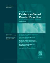 Journal of Evidence Based Dental Practice (Sept 2012)